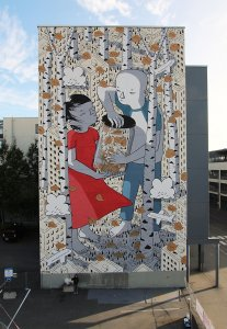 Millo, UPEA Street Art Festival, Finland. Photo Credit Millo.