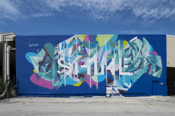Hueman, SHINE st Petersburg Street Art Festival, Florida 2017. Photo Credit Iryna kanishcheva