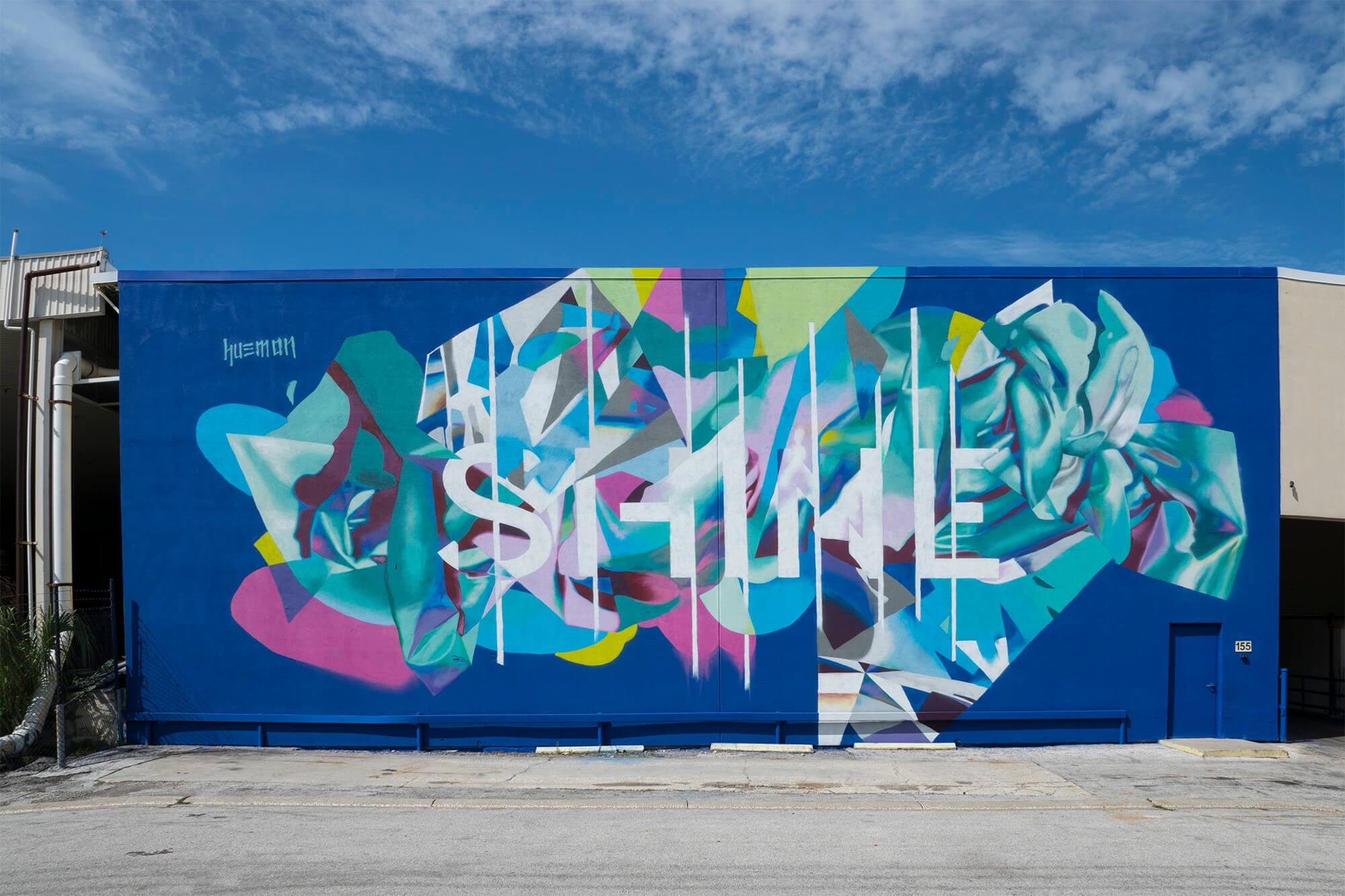SHINE St. Petersburg Street Art Mural Festival, Florida 2017