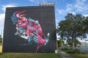 Joram Roukes, SHINE st Petersburg Street Art Festival, Florida 2017. Photo Credit Iryna kanishcheva