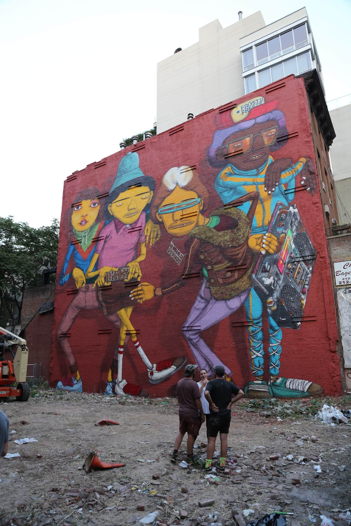 Os Gemeos New York Graffiti Street Art Hip