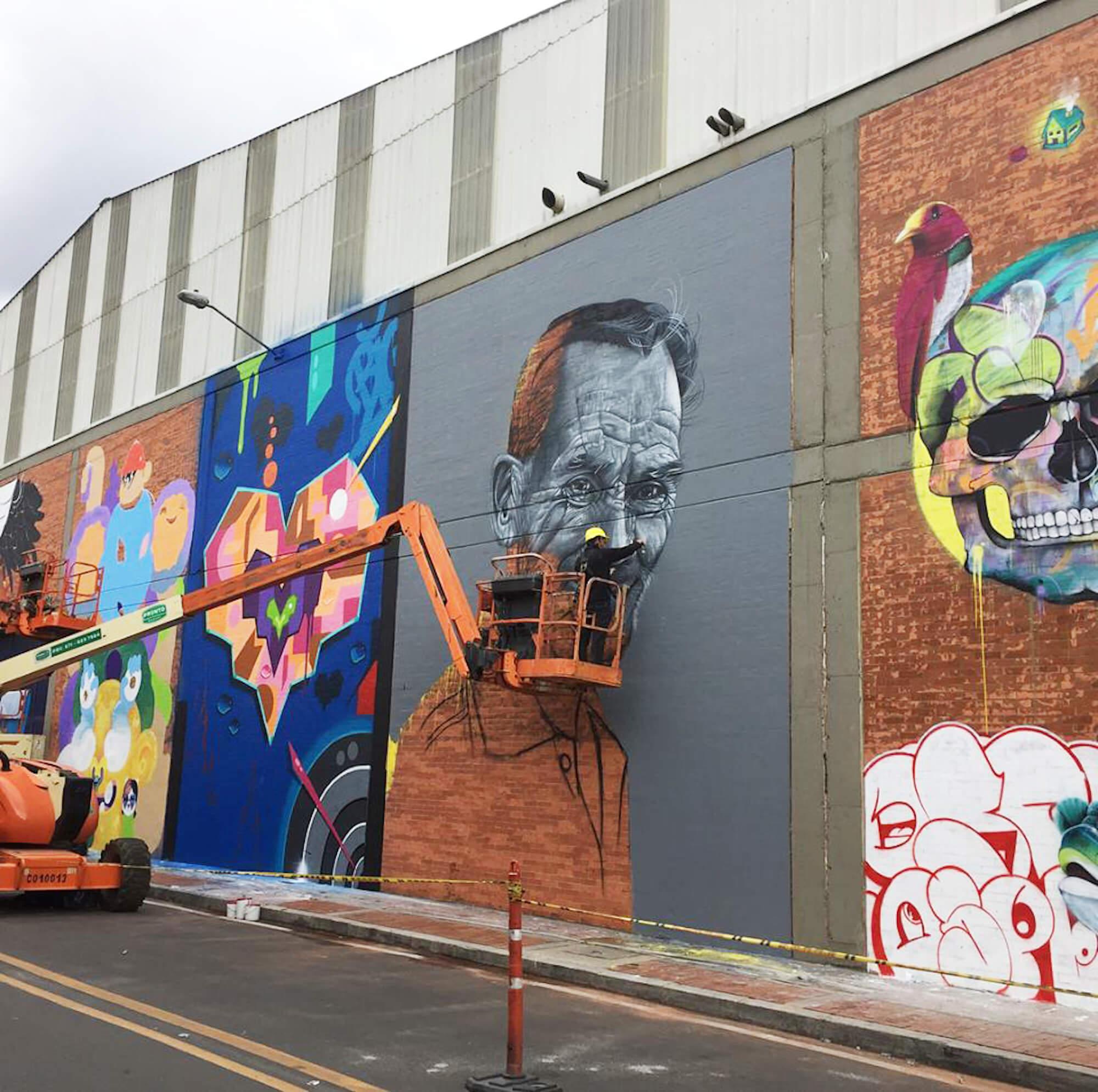 Distrito Graffiti Festival Bogota Colombia 2017