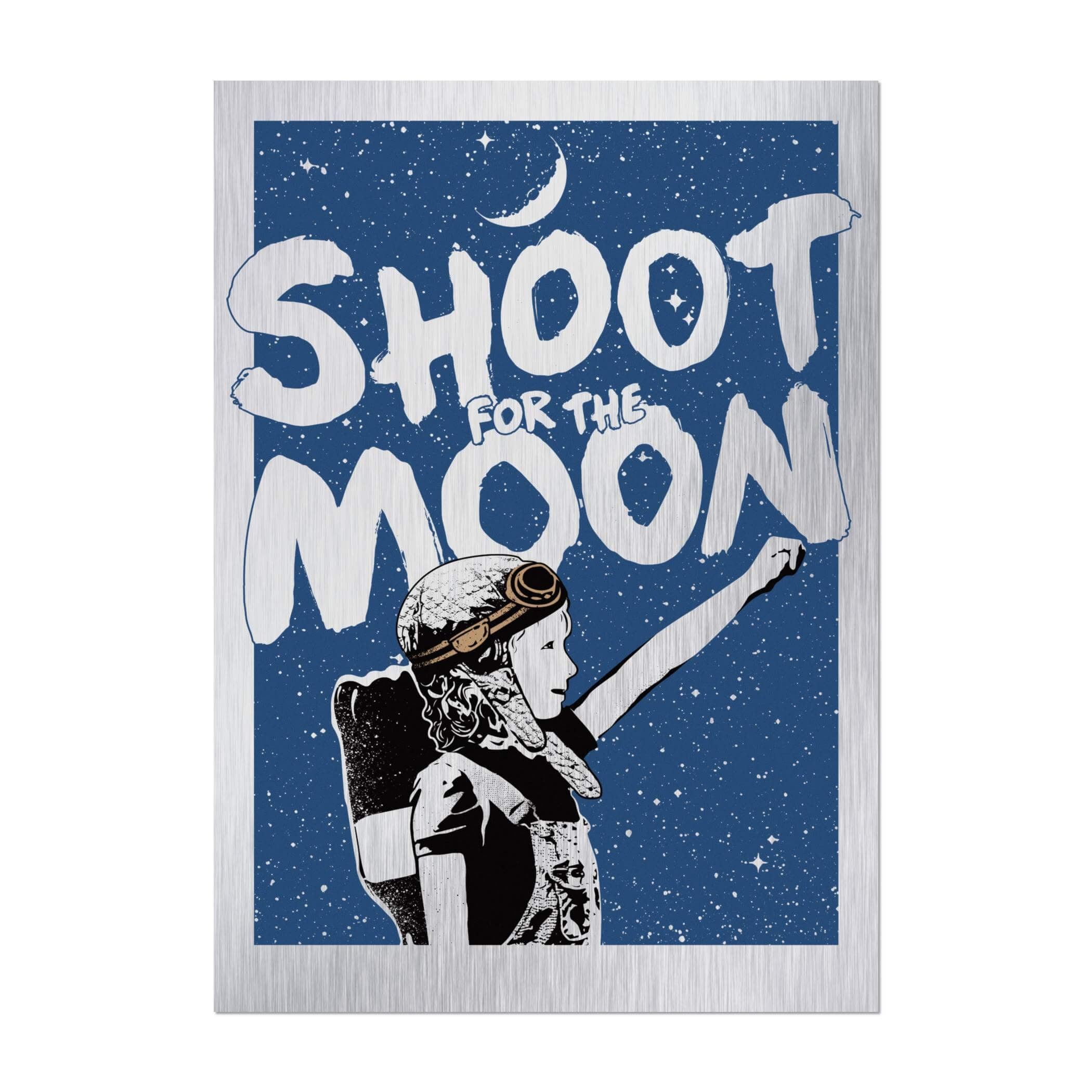 NME - Shoot For The Moon (Aluminium Edition)