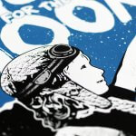NME - Shoot For The Moon (Silver Edition) Print Detail
