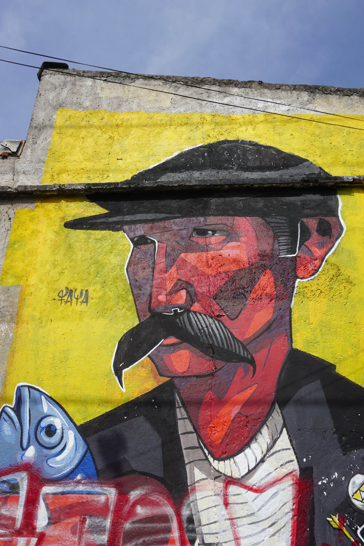 Mexico City Rich In World Class Urban Art, 2017