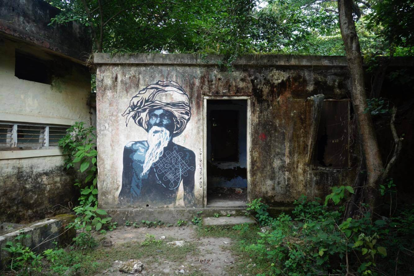 The Hidden Graffiti In The Yoga Capital Of The World Rishikesh India