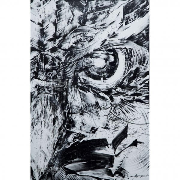 Hua Tunan - White Owl Canvas 1/1