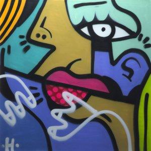 Hunto - Untitled Canvas 1/1