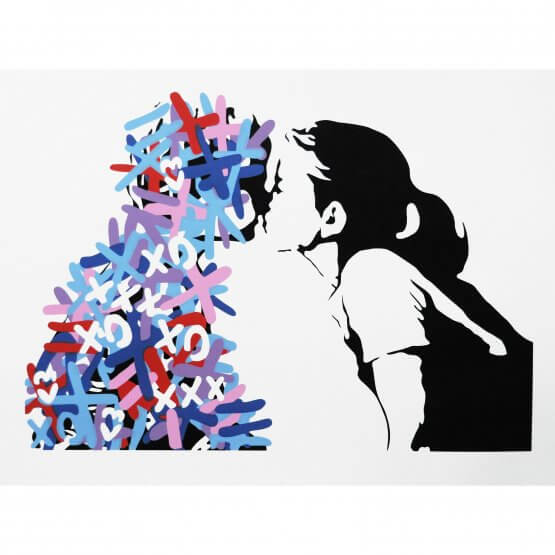 3F - The Kiss (Variant Edition #2) Print