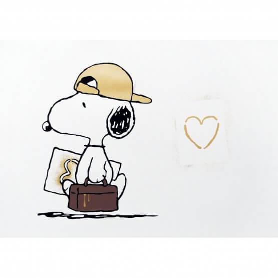 TRUST iCON - Love Vandal (Gold) Print