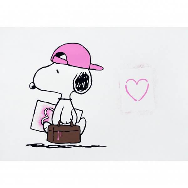 TRUST iCON - Love Vandal (Pink) Print