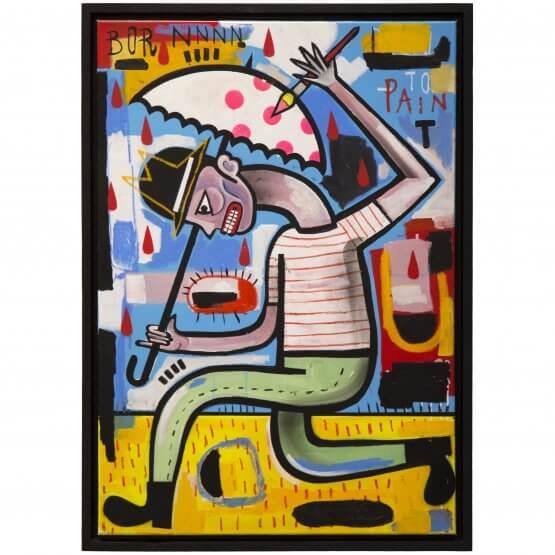 Joachim - Born To Paint Canvas 1/1