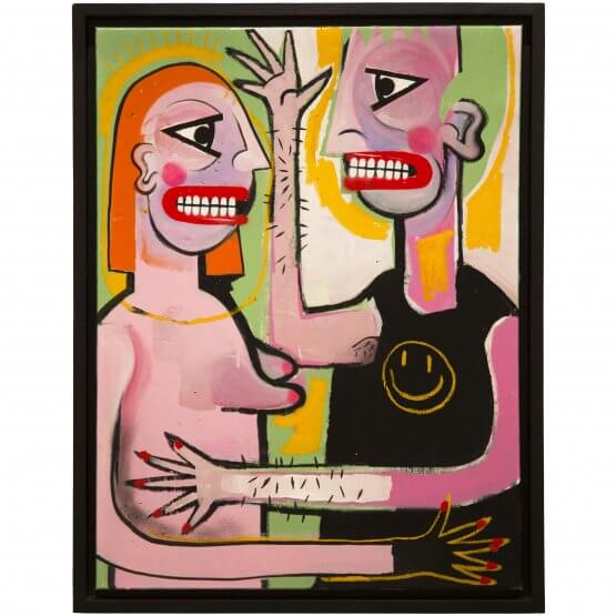 Joachim - The Couple Canvas 1/1