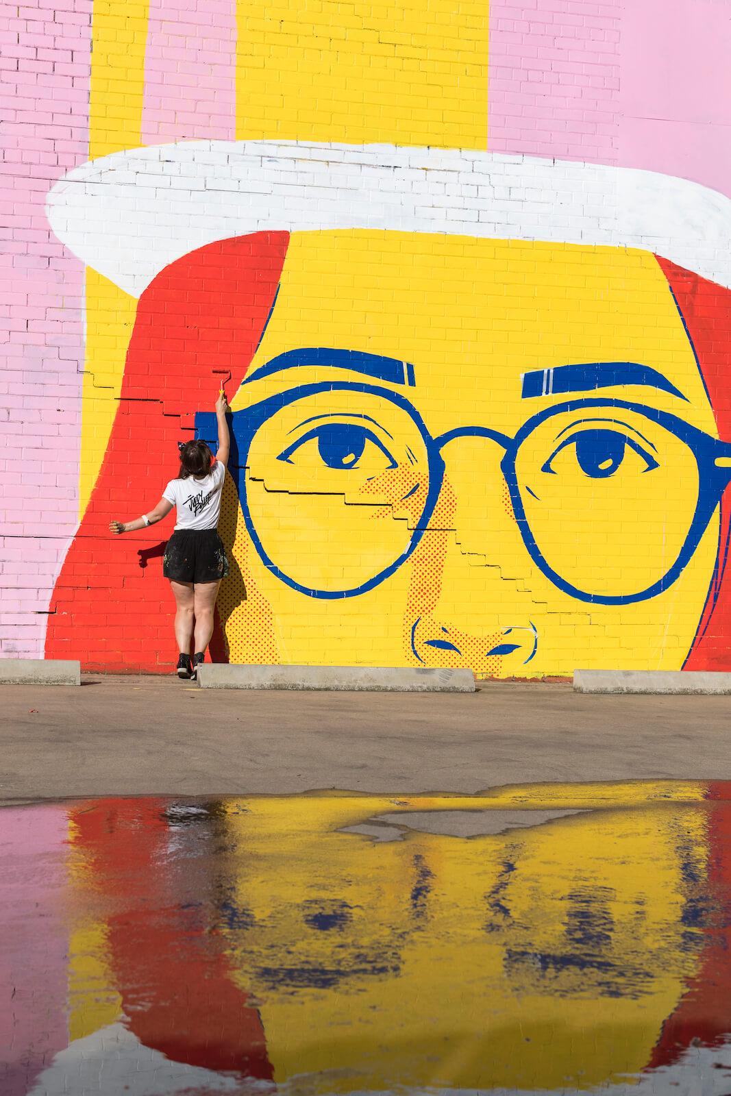 Wall to Wall Street Art Festival, Benalla, Australia 2018