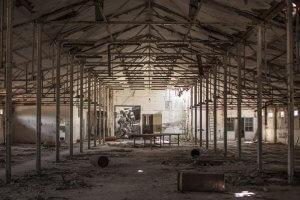 L.E.O. in Textile Factory Photo Credit Vinny Cornelli : Streetlayers