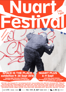 Nuart Street Art Festival , Space is the Place, Stavanger, Norway 2018