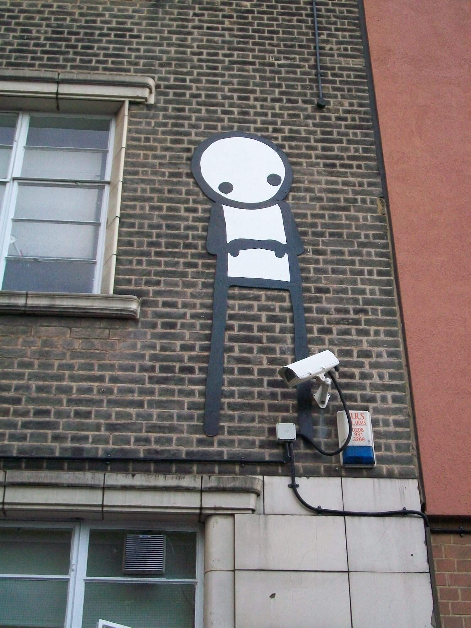 Street Artist Stik Auctions Rare Sculpture in aid of Cardboard Citizens Charity, Christies 2018