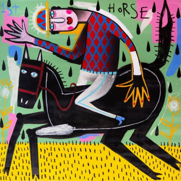 Joachim - The Winning Jockey (Red/Blue Chequered Jersey) 1/1