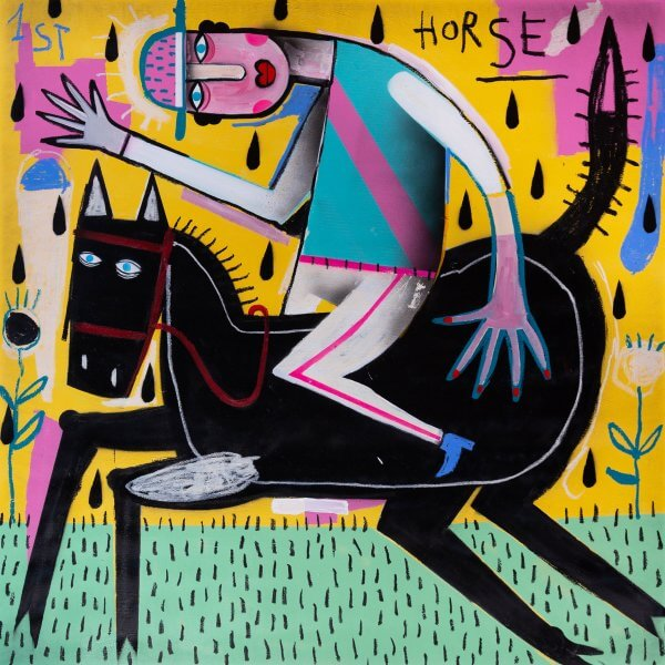 Joachim - The Winning Jockey (Green/Pink Stripe Jersey) 1/1