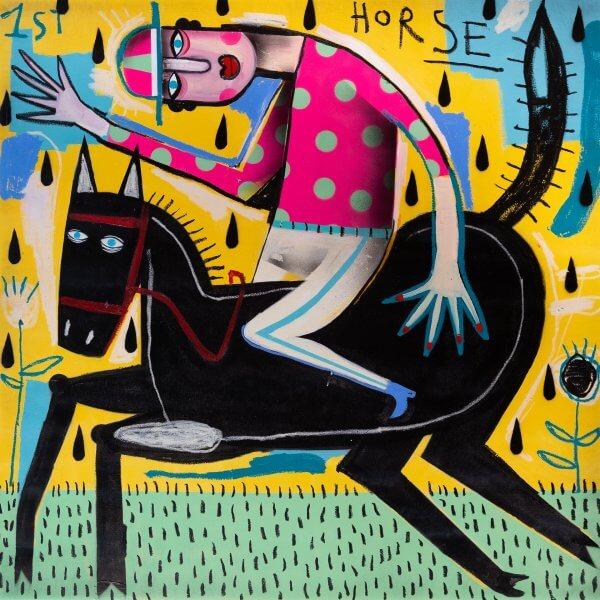 Joachim - The Winning Jockey (Pink/Green Dots Jersey) 1/1