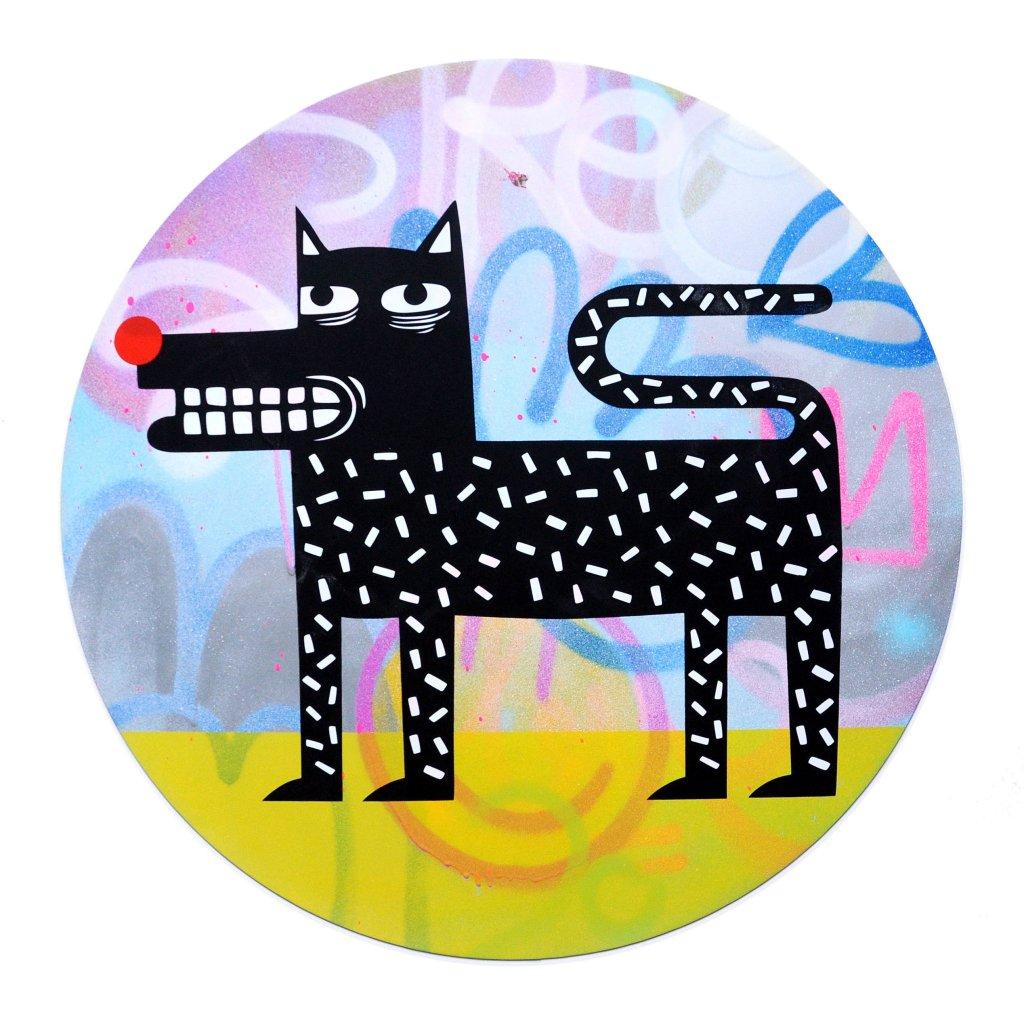 Joachim - The Watchdog (Graffiti Pop on Aluminium Hand finished Edition) #4