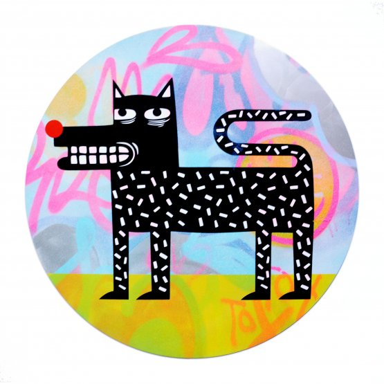 Joachim - The Watchdog (Graffiti Pop on Aluminium Hand finished Edition) #5