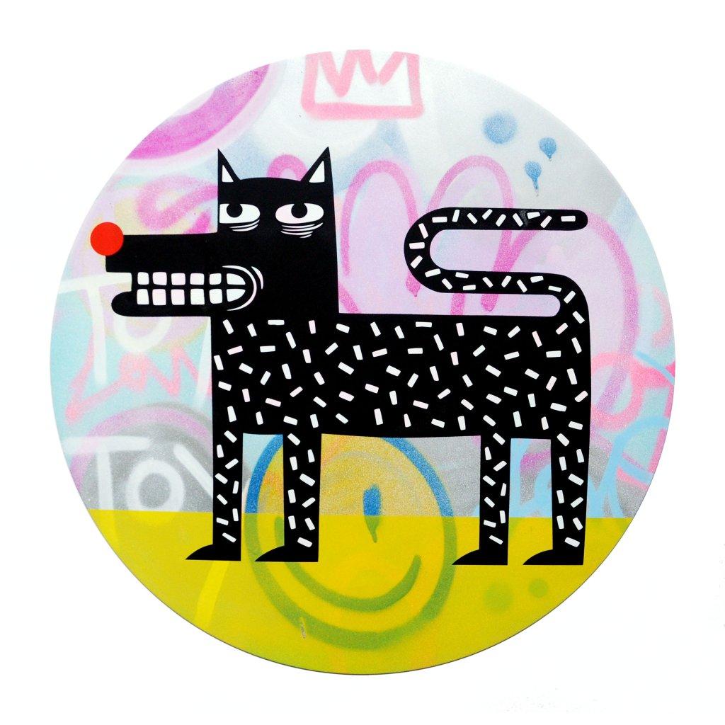 Joachim - The Watchdog (Graffiti Pop on Aluminium Hand finished Edition) #6
