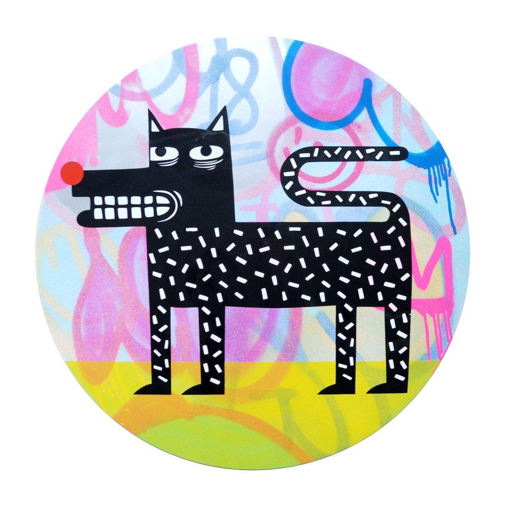 Joachim - The Watchdog (Graffiti Pop on Aluminium Hand finished Edition) #8