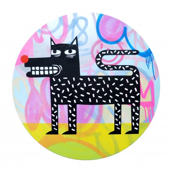 Joachim - The Watchdog (Graffiti Pop on Aluminium Hand finished Edition) #8