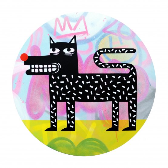 Joachim - The Watchdog (Graffiti Pop on Aluminium Hand finished Edition) #10