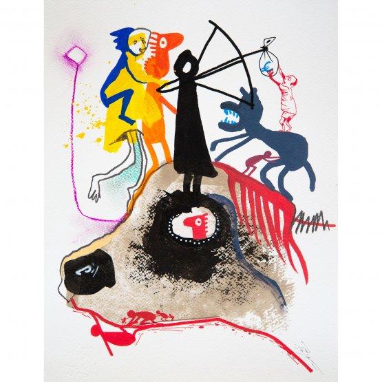 Art is Trash - Cabeza De Perro