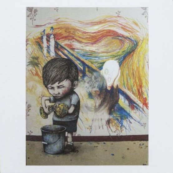 Dran - Scream Print