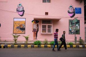 Eugene Soh, Lodhi Art Festival, Delhi 2019. Photo credit Federico Angeloni