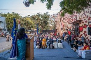 NesPoon Workshop at Aga Khan Foundation, Lodhi Art Festival, Delhi 2019. Photo credit Pranav Gohil