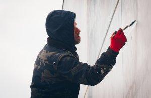 Leon Keer, The Crystal Ship, Oostende 2019. Photo credit Alex Stanhope / GraffitiStreet
