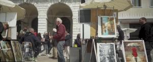 "Banksy, ""Venice in Oil"", Venice Biennale 2019"