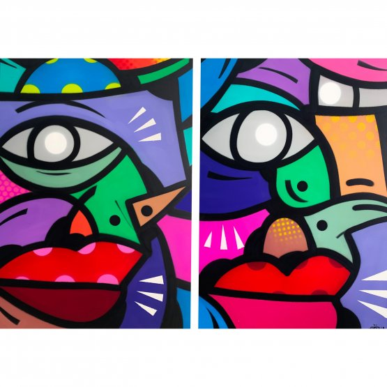 Hunto - Untitled Diptych (2018)