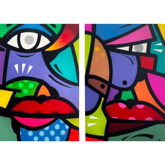 Hunto - Untitled Diptych (2019)