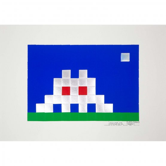 Invader - Home Earth Print