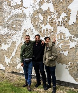 """VHILS,""""Out in the Open"""", Aalborg 2019. Photo Credit Kirk gallery"""