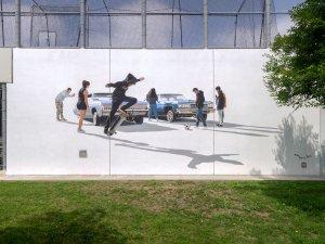 Perez Bros, Maya Angelou Mural Festival, Los Angeles 2019. Photo Credit Static Medium