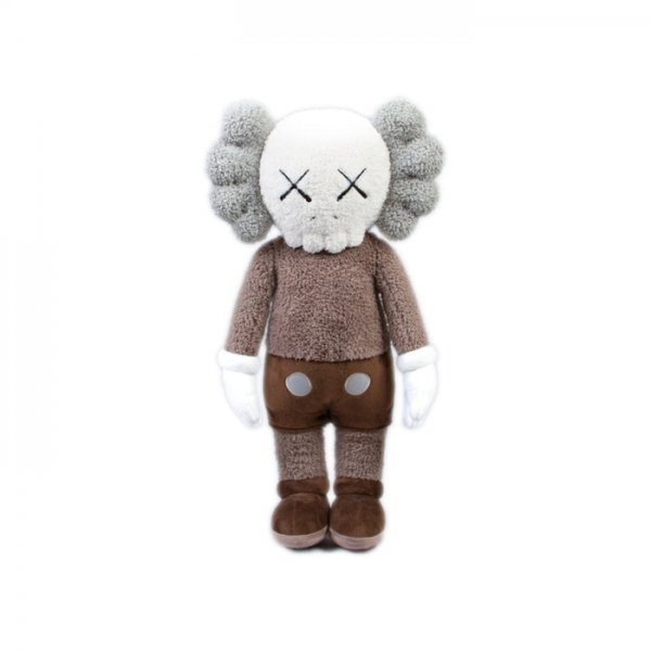 KAWS - Holiday Hong Kong Plush Brown