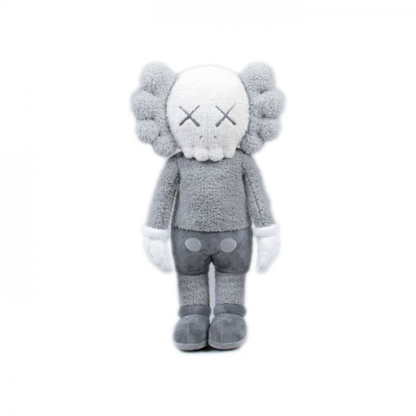 KAWS - Holiday Hong Kong Plush Grey